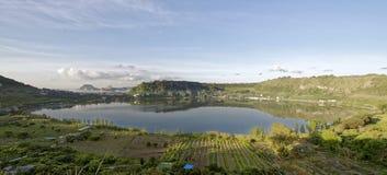Lago Averno Foto de archivo