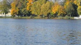 Lago azul vídeos de arquivo