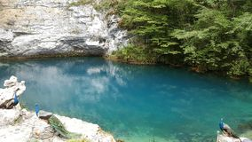 Lago azul imagem de stock royalty free