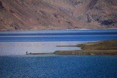 Lago azul Fotos de Stock Royalty Free