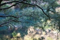 Lago azul Fotos de archivo libres de regalías