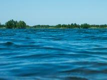 Lago azul Imagem de Stock