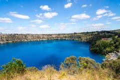 Lago azul Fotografia de Stock Royalty Free