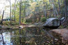 Lago azul Ridge fotografía de archivo