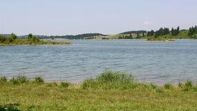Lago bávaro Forggensee no verão vídeos de arquivo