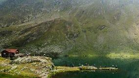 Lago Bâlea Imagen de archivo libre de regalías