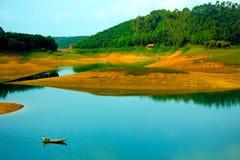 Lago ba di Thac di crociera di sampan immagini stock libere da diritti