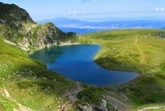 Lago Babreka, Bulgaria Fotografie Stock Libere da Diritti