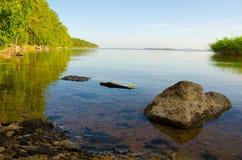 Lago backwater fotos de stock