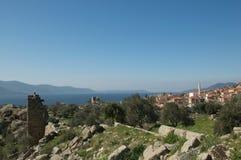 Lago Bafa Mugla Turquía Imagen de archivo libre de regalías