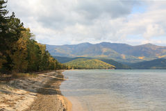 Lago Baikal Fotografia de Stock
