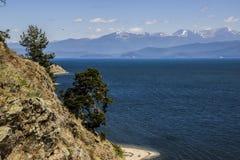 Lago Baikal Fotografie Stock