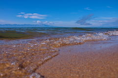 Lago Baikal Fotografia Stock