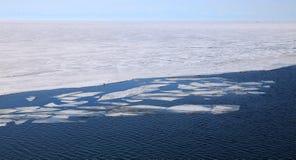 Lago Baikal congelato Immagini Stock Libere da Diritti