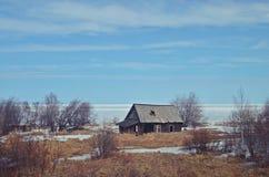 Lago Baikal in inverno immagini stock libere da diritti