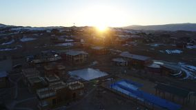 Lago Baikal in inverno archivi video