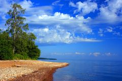 Lago Baikal, Rússia Imagem de Stock