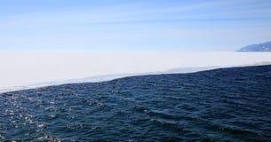 Lago Baikal. Sorgente. Fotografie Stock