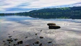 Lago Bala en País de Gales Imagen de archivo libre de regalías