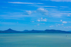 Lago Balaton Foto de Stock Royalty Free
