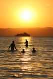 Lago Balaton Fotografia de Stock Royalty Free