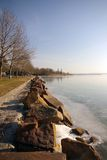 Lago Balaton Imagem de Stock