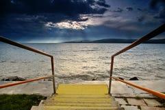 Lago Balaton Fotografía de archivo