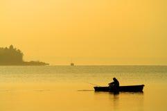 Lago Balaton Fotografia Stock Libera da Diritti