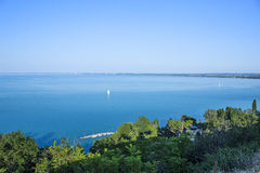 Lago Balaton Immagini Stock
