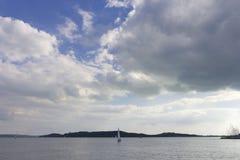 Lago Balaton Imagen de archivo