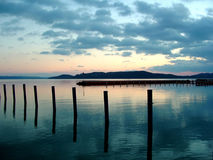 Lago Balaton Fotos de archivo libres de regalías