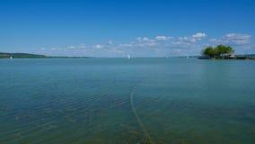Lago Balaton Foto de archivo