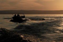 Lago Balaton em Hungria Fotografia de Stock Royalty Free