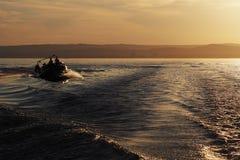 Lago Balaton en Hungría Foto de archivo libre de regalías