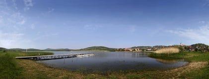 Lago Balaton en Tihany Fotos de archivo libres de regalías