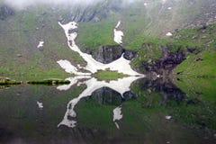 Lago Balea fotos de archivo libres de regalías