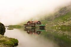Lago Balea fotografía de archivo