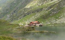 Lago Balea Imágenes de archivo libres de regalías
