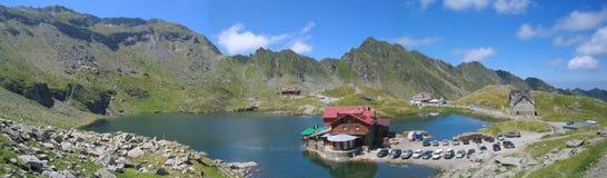 Lago Balea Fotografia Stock