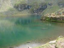 Lago Balea Immagine Stock Libera da Diritti