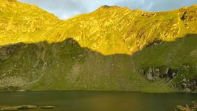 Lago Balea Fotografie Stock Libere da Diritti