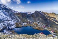 Lago Balea, Romania Fotografia Stock
