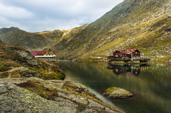 Lago Balea, Rumania Imagenes de archivo
