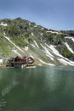 Lago Balea, Rumania glacier fotografía de archivo libre de regalías