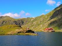 Lago Balea - Transfagarasan Romênia Foto de Stock Royalty Free