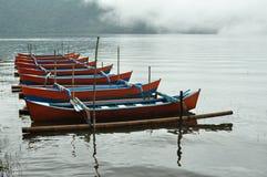 Lago Bali Bratan Foto de archivo