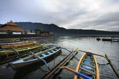 Lago Bali Bratan Imagen de archivo libre de regalías