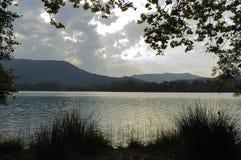 Lago banyoles Imagen de archivo