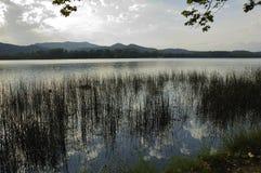 Lago banyoles Imágenes de archivo libres de regalías