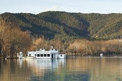 Lago banyoles Imagenes de archivo